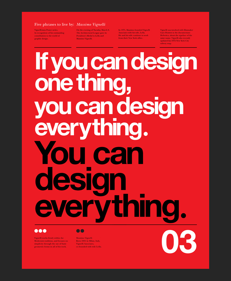 5_Massimo_Vignelli_words