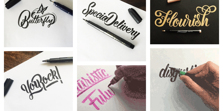 Calligraphy-GIFs