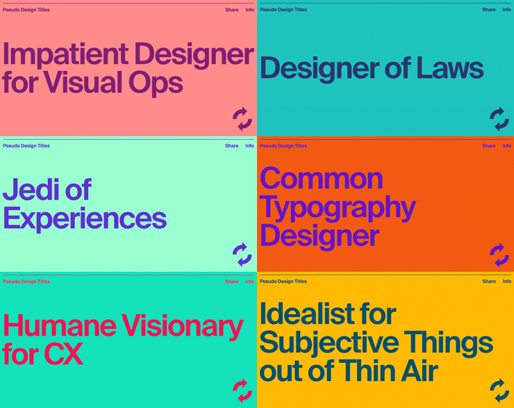 PseudoDesignTitles