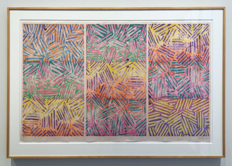 ジャスパー・ジョーンズ の版画とドローイング『Usuyuki』展