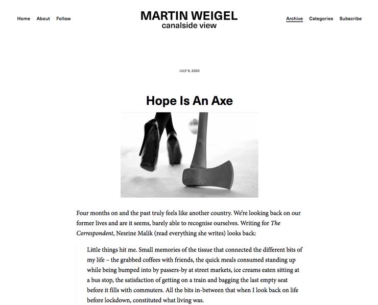 『希望は斧』コロナ後の世界と広告の在り方について