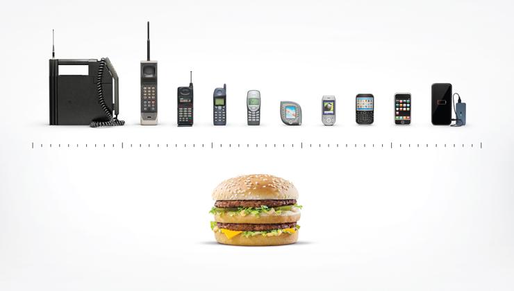 マクドナルドの広告「Timeless」