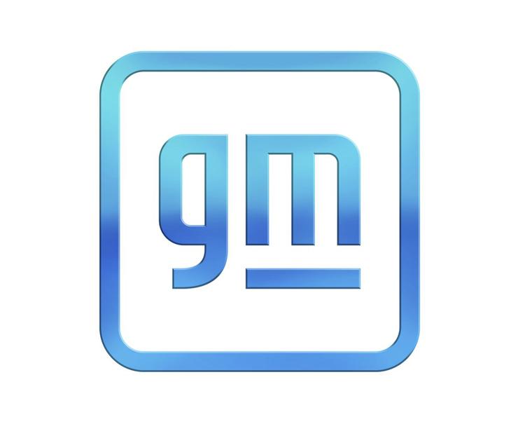 ゼネラルモータースの新しいロゴ