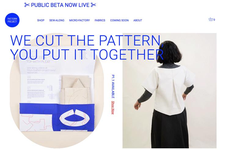デザインコンサルタントHetcoによるプロジェクト「pattern-project」
