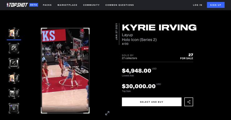 NBA topshots