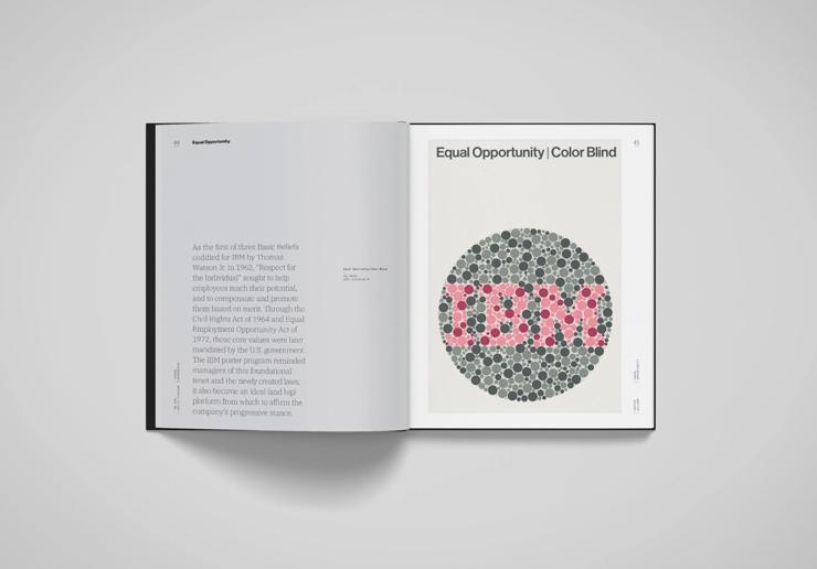 IBM社内向けポスター作品集『The IBM Poster Program』