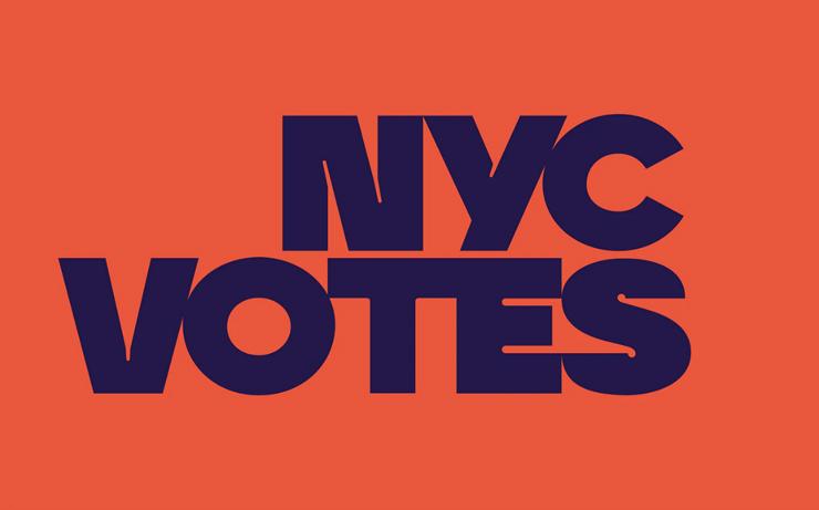ペンタグラムによる「NYC Votes」キャンペーン